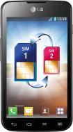 Смартфон LG Optimus L7 II Dual Black Blue (P715 KU) (LGP715.ACISKU)