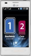 Смартфон LG Optimus L5 Dual White (E615)