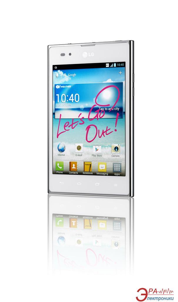 Смартфон LG P895 (Optimus Vu) White
