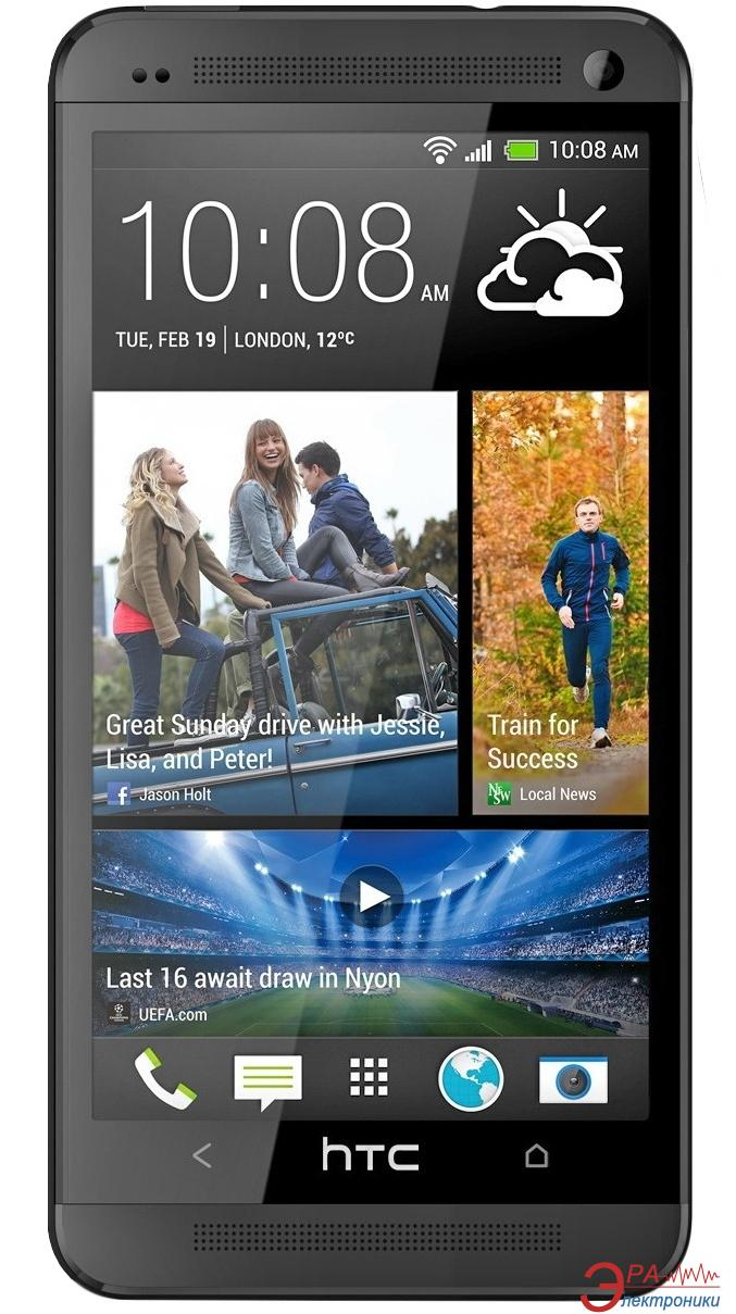 Смартфон HTC One 801e Stealth Black (4718487630653)