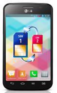 Смартфон LG E445 (Optimus L4 II Dual) Black