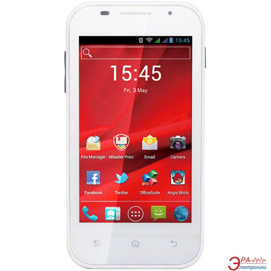 Смартфон Prestigio MultiPhone 4044 DUO White (PAP4044DUOWHITE)