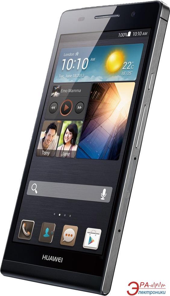Купить Смартфон Huawei Ascend P6 black (51056157) за 0 грн ...