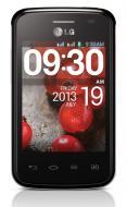 Смартфон LG E420 (Optimus L1 II Dual) Black