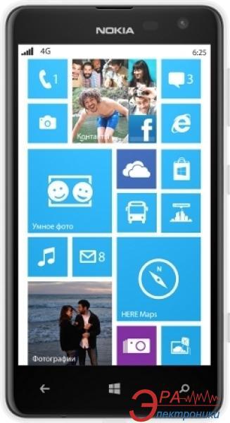 Смартфон Nokia Lumia 625 white (A00013600)