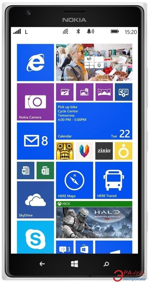 Смартфон Nokia Lumia 1520 White (A00015319)