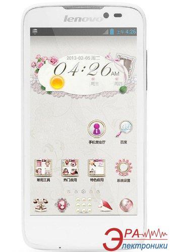 Смартфон Lenovo A516 Dual Sim 3G (white) (P0LM003TUA)