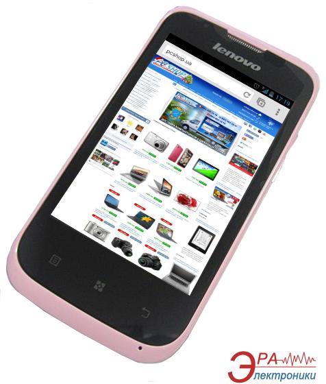 Смартфон Lenovo A60+ DualSim Pink