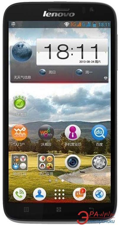 Смартфон Lenovo IdeaPhone A850 Dual Sim (Blue)