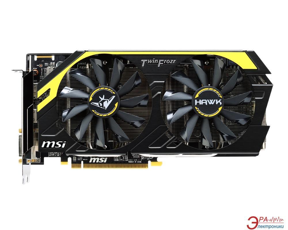 Видеокарта MSI ATI Radeon R9 270X HAWK LE GDDR5 2048 Мб (R9 270X HAWK LE)