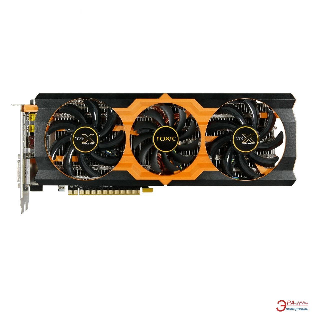Видеокарта Sapphire ATI Radeon R9 280X TOXIC GDDR5 3072 Мб (11221-01-40G)