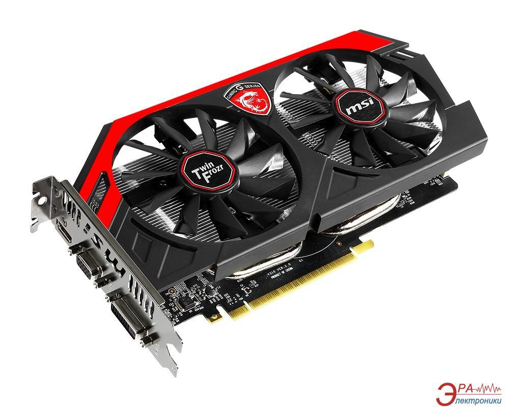 Видеокарта MSI GeForce GTX 750 Ti TwinFrozr Overclocked GAMING GDDR5 2048 Мб (N750Ti TF 2GD5/OC)