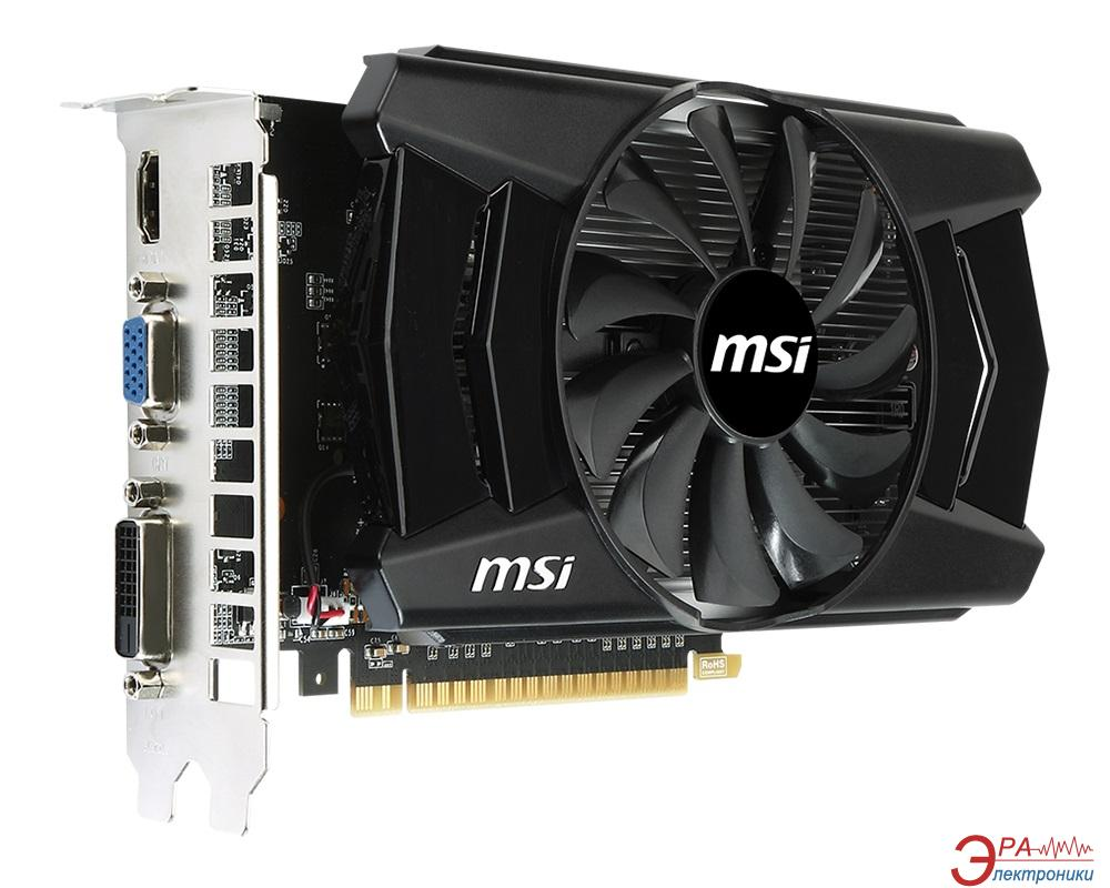 Видеокарта MSI Nvidia GeForce GTX 750 Ti Overclocked GDDR5 2048 Мб (N750Ti-2GD5/OC)
