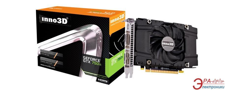 Видеокарта Inno3D Nvidia GeForce GTX 750 Ti OC GDDR5 2048 Мб (N75T-1SDV-E5CWX)