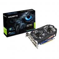 Видеокарта Gigabyte Nvidia GeForce GTX 750 Ti Windforce Overclocked GDDR5 2048 Мб (GV-N75TWF2OC-2GI)