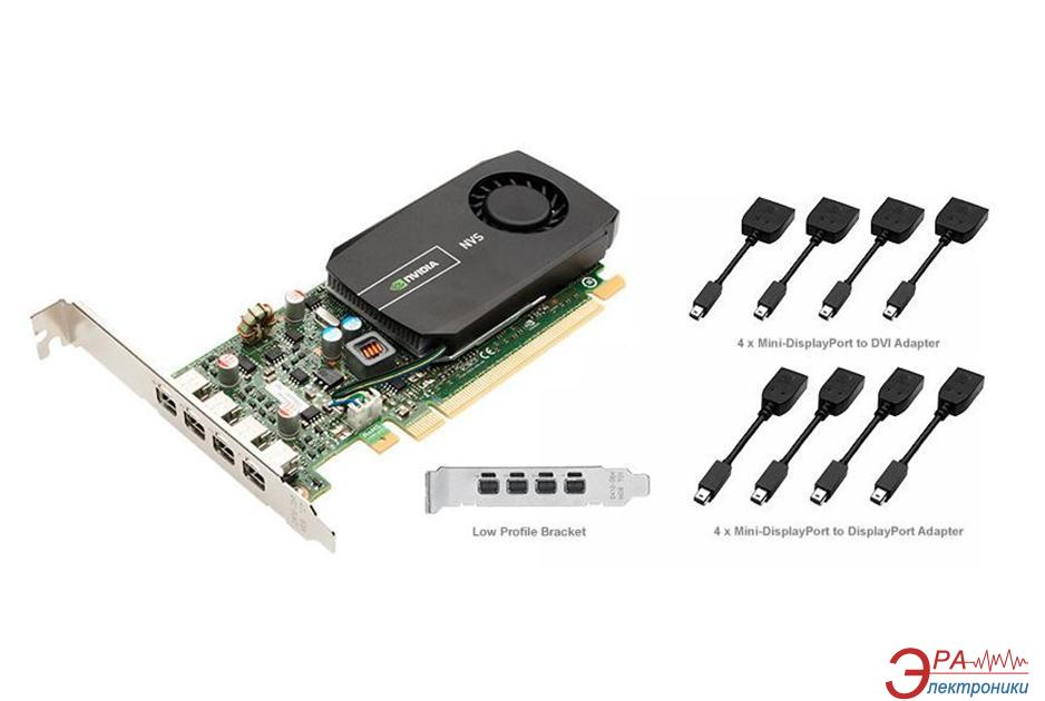 Видеокарта PNY Nvidia GeForce NVS 510 low profile GDDR3 2048 Мб (VCNVS510DVI-PB)