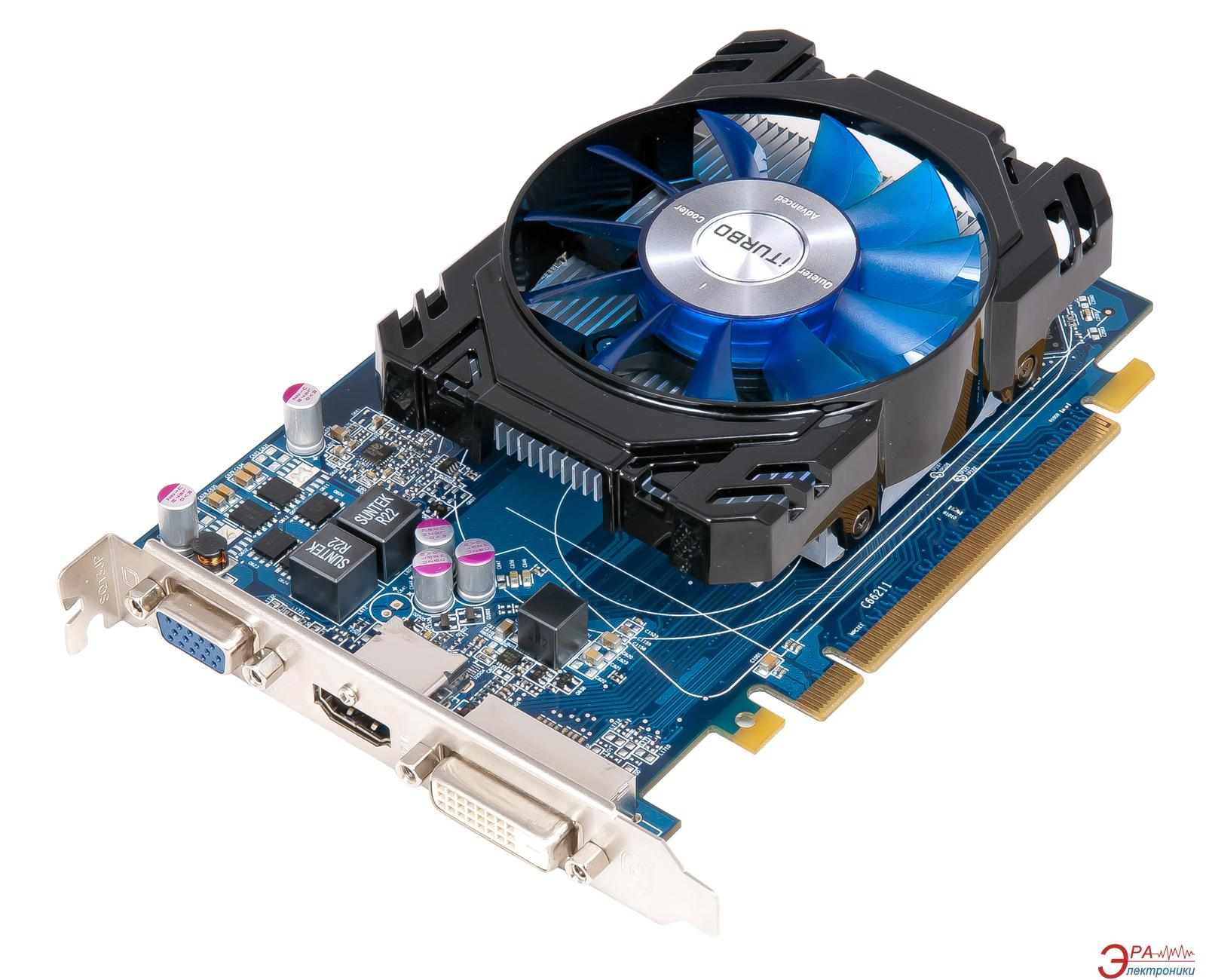 Видеокарта HIS ATI Radeon R7 240 iCooler Boost Clock GDDR3 2048 Мб (H240F2G)