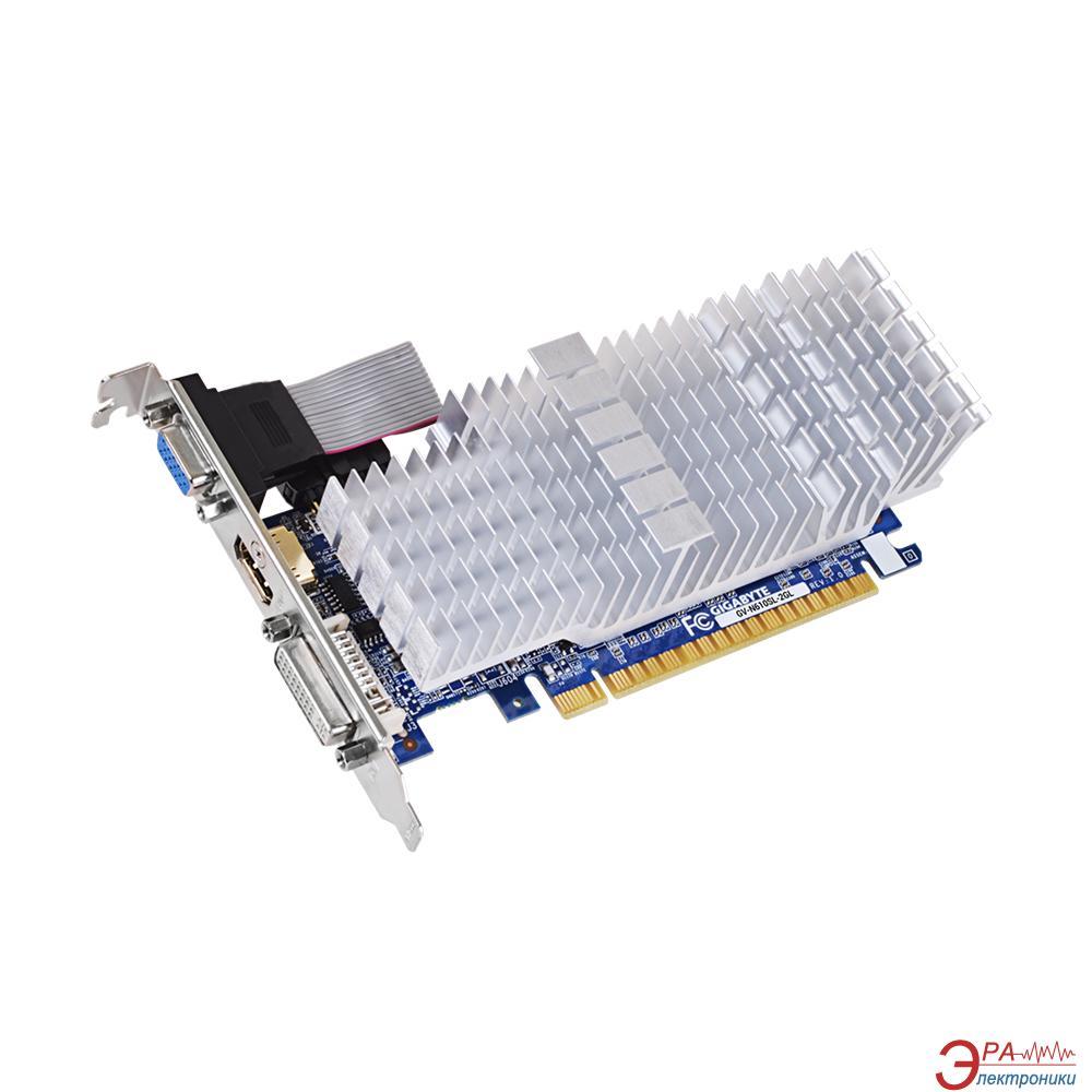 Видеокарта Gigabyte GeForce GT 610 GDDR3 2048 Мб (GV-N610SL-2GL 1.0) (GVN610L2L-00-G)