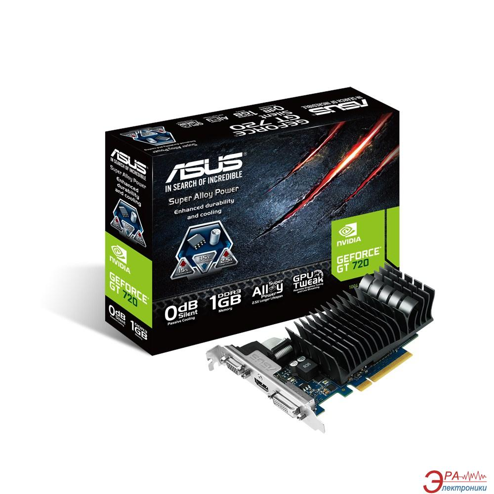 Видеокарта Asus Nvidia GeForce GT 720 Silent for HTPC GDDR3 1024 Мб (GT720-SL-1GD3-BRK)