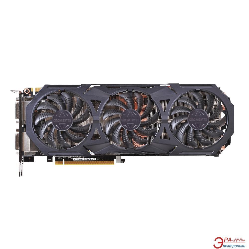Видеокарта Gigabyte Nvidia GeForce GTX 980 WINDFORCE 3X GDDR5 4096 Мб (GV-N980G1 GAMING-4GD 1.0) (GVN980G14D-00-G)