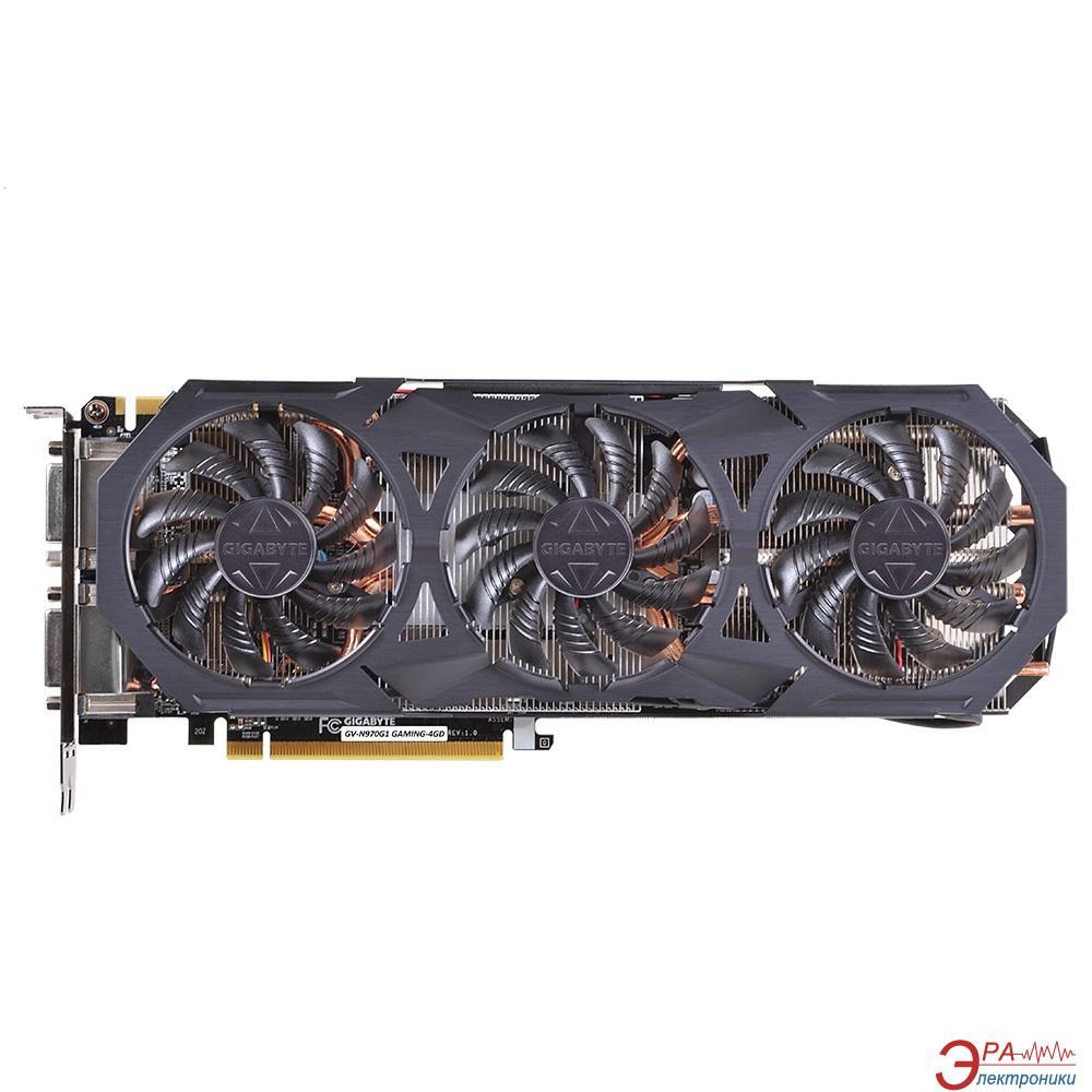 Видеокарта Gigabyte Nvidia GeForce GTX 970 GDDR5 4096 Мб (GV-N970G1 GAMING-4GD) (GVN970G14D-00-G)