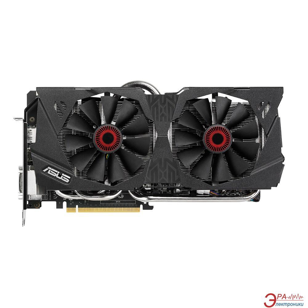 Видеокарта Asus Nvidia GeForce GTX 980 GDDR5 4096 Мб (STRIX-GTX980-DC2OC-4GD5)