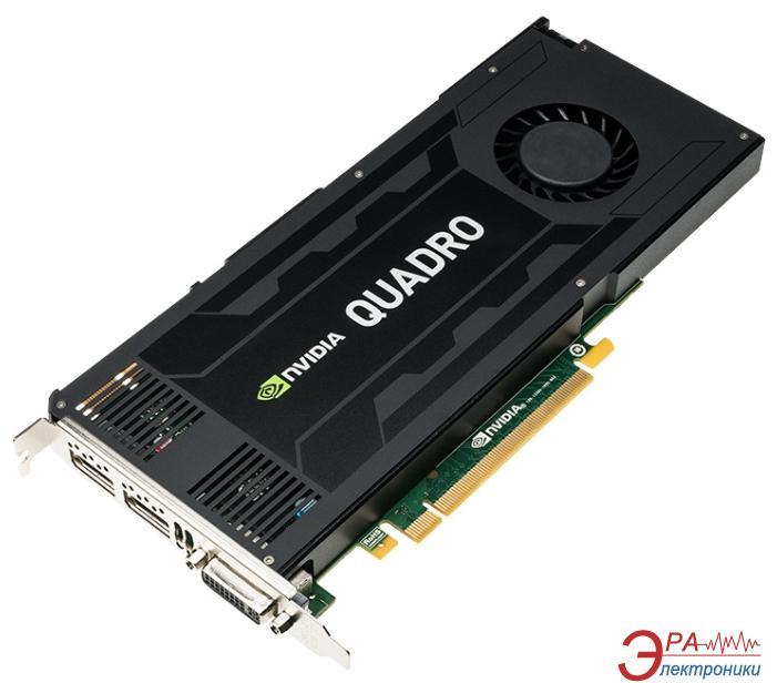 Видеокарта PNY Nvidia GeForce Quadro K4200 GDDR5 4096 Мб (VCQK4200-PB)
