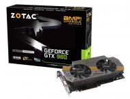 Видеокарта Zotac Nvidia GeForce GTX 980 AMP! Omega Edition GDDR5 4096 Мб (ZT-90202-10P)