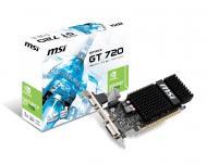 Видеокарта MSI GeForce GT 720 GDDR3 1024 Мб (N720-1GD3HLP)