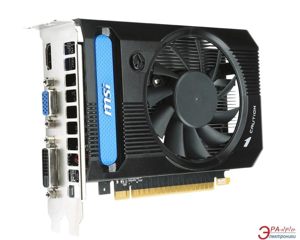 Видеокарта MSI Nvidia GeForce GT 730 GDDR3 2048 Мб (N730K-2GD3/OC)