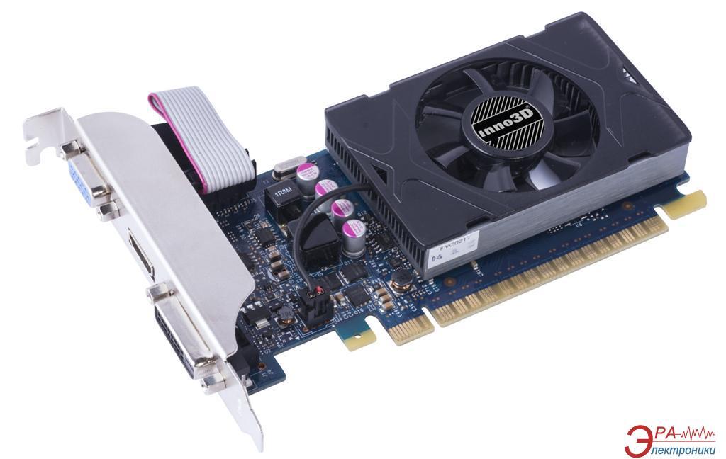 Видеокарта Inno3D GeForce GT 730 LP GDDR5 1024 Мб (N730-3SDV-D5BX)