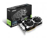 Видеокарта MSI Nvidia GeForce GTX 960 GDDR5 2048 Мб (GTX 960 2GD5T OC) (912-V320-006)