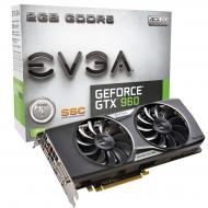 Видеокарта EVGA Nvidia GeForce GTX 960 SuperSC ACX 2.0+ GDDR5 2048 Мб (02G-P4-2966-KR)