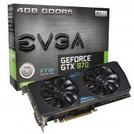Видеокарта EVGA Nvidia GeForce GTX 970 FTW ACX 2.0 GDDR5 4096 Мб (04G-P4-2978-KR)