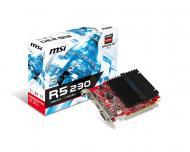 Видеокарта MSI Radeon R5 230 GDDR3 1024 Мб (R5 230 1GD3H)
