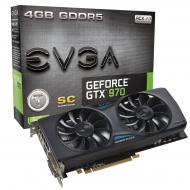 Видеокарта EVGA Nvidia GeForce GTX 970 Superclocked ACX 2.0 GDDR5 4096 Мб (04G-P4-2974-KR)