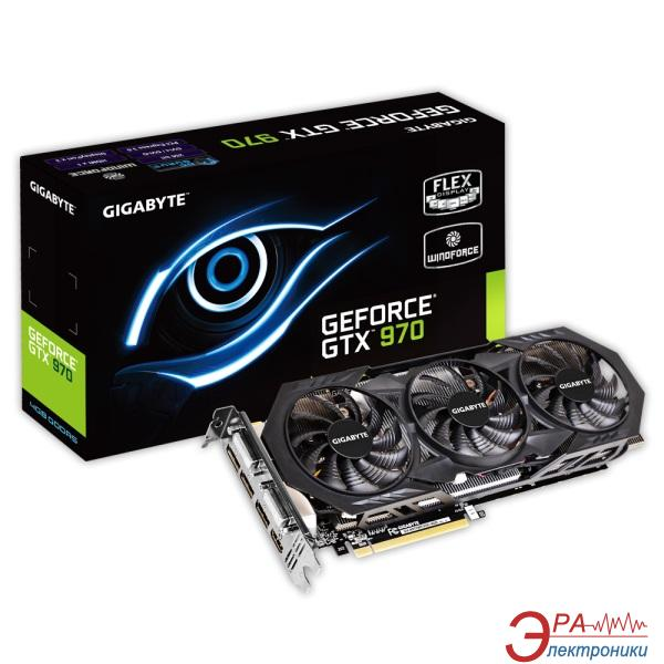 Видеокарта Gigabyte Nvidia GeForce GTX 970 GDDR5 4096 Мб (GV-N970WF3OC-4GD) 1.1 (GVN970W3O4-00-G11)