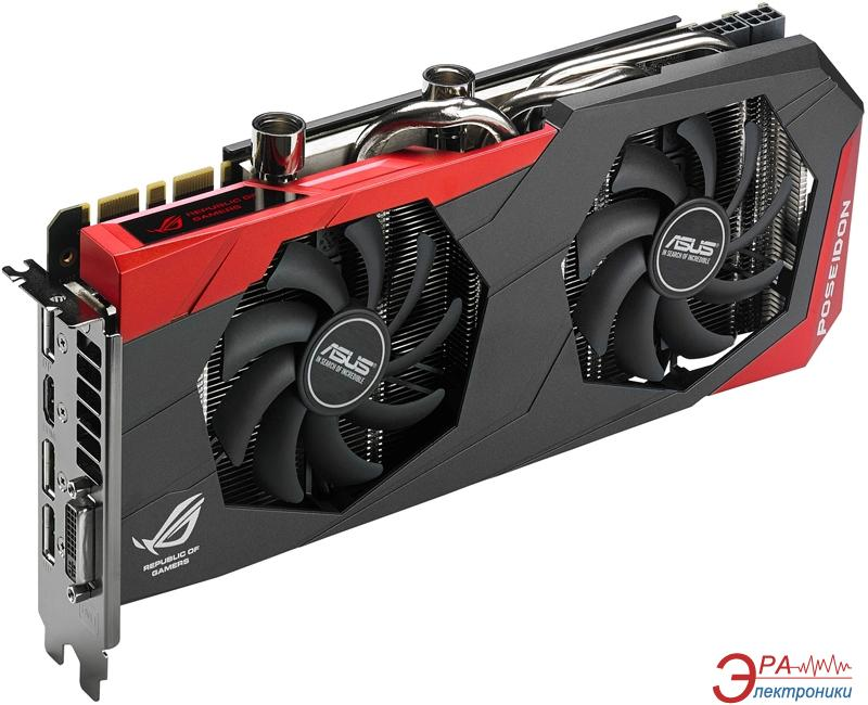 Видеокарта Asus Nvidia GeForce GTX980 POSEIDON Watercooled GDDR5 4096 Мб (POSEIDON-GTX980-4GD5)