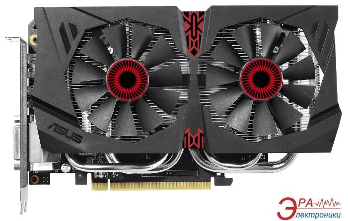 Видеокарта Asus Nvidia GeForce GTX960 DirectCU Strix GDDR5 4096 Мб (STRIX-GTX960-DC2-4GD5)