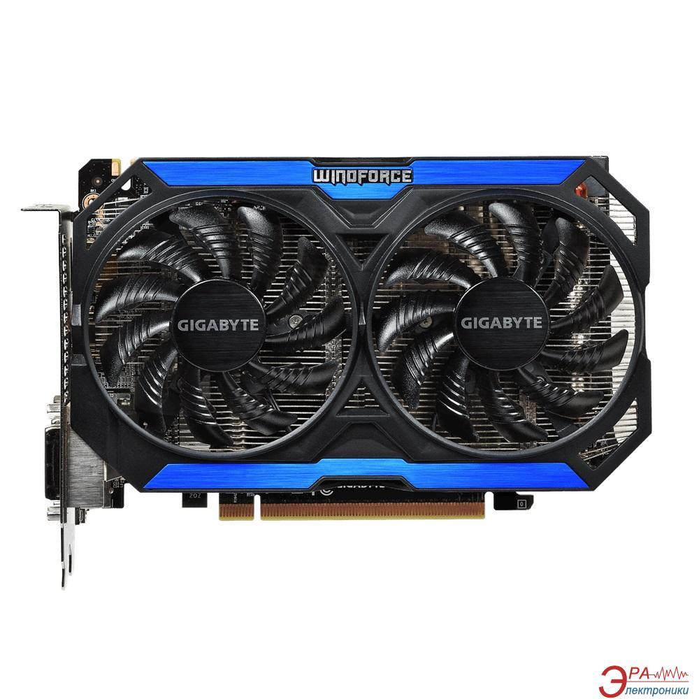 Видеокарта Gigabyte Nvidia GeForce GTX 960 GDDR5 2048 Мб (GV-N960OC-2GD)