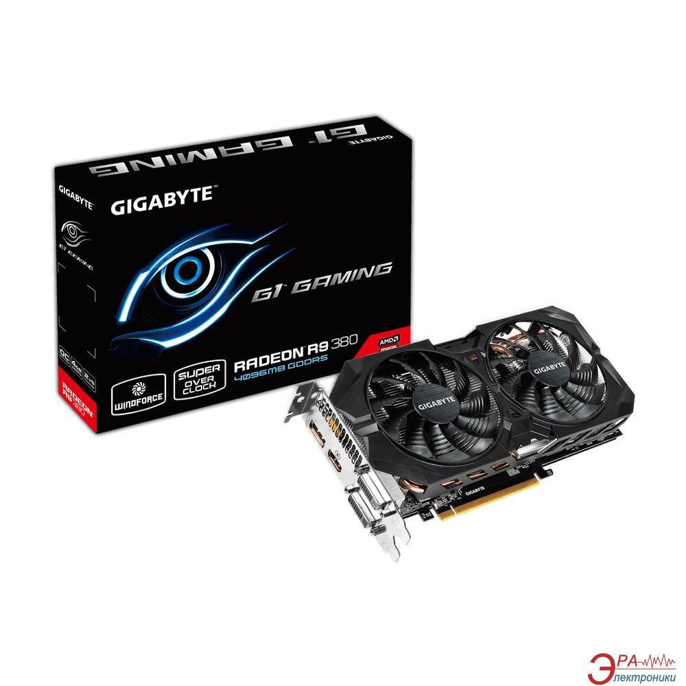 Видеокарта Gigabyte ATI Radeon R9 380 GAMING GDDR5 4096 Мб (GV-R938G1 GAMING-4GD)