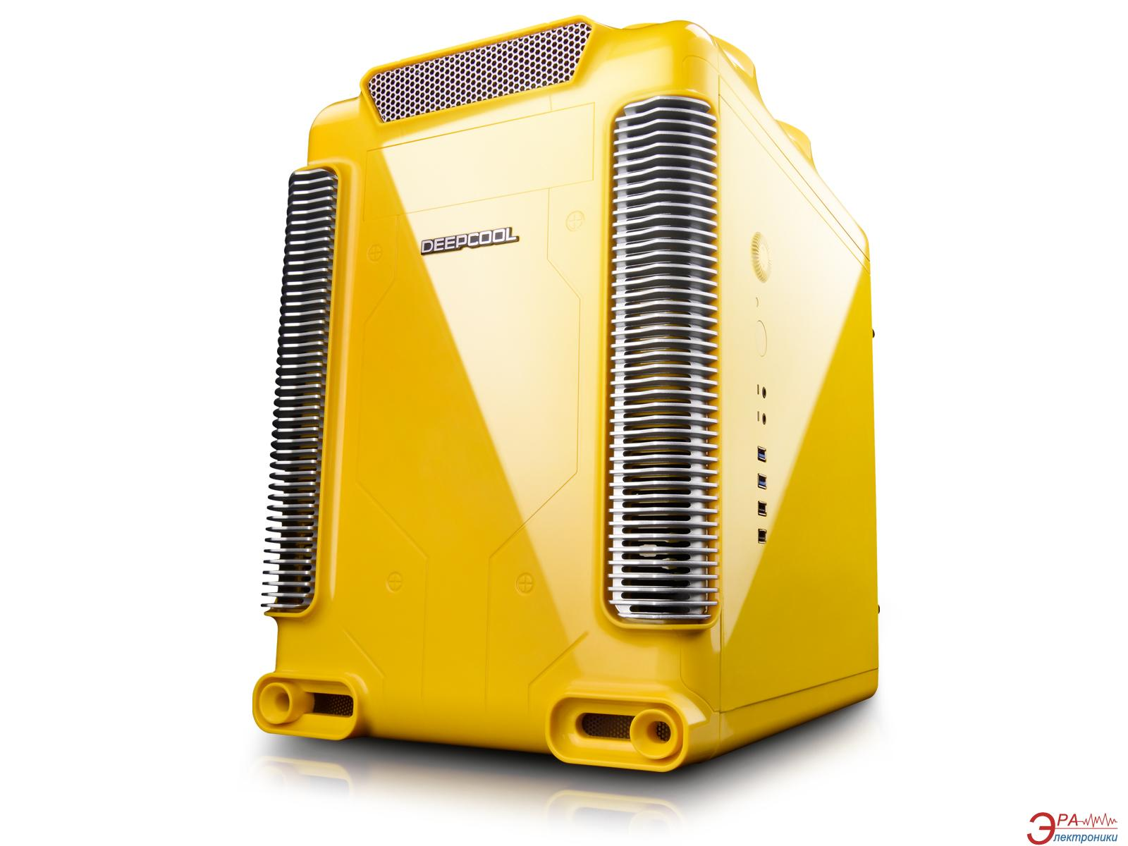 Корпус Deepcool STEAM CASTLE YELLOW Без БП