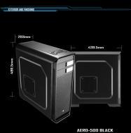 Корпус AeroCool AERO 500 Black (4713105955514) Без БП