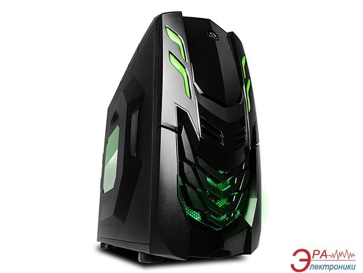 Корпус Raidmax Viper GX 512WBG Black Green (Viper GX 512WBG) Без БП