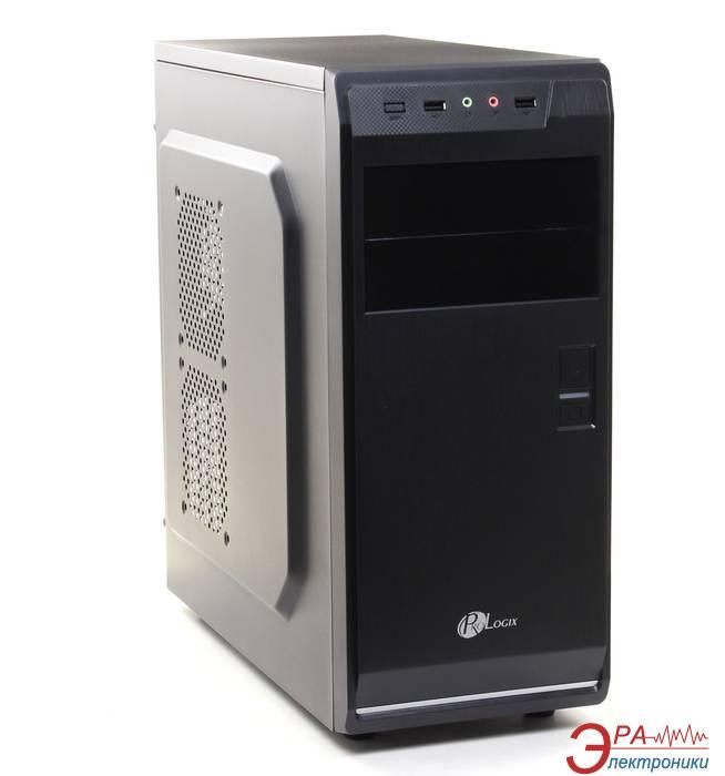 Корпус PrologiX B20/2001 Black/Silver PSS-460W-12cm (B20/2001BS) 460W