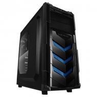Корпус Raidmax VORTEX V4 404WBU Blue Без БП