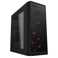 Корпус AeroCool SI-5100 Window Black Без БП