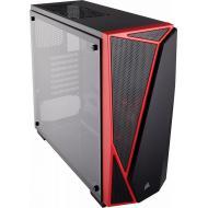 Корпус Corsair Carbide SPEC-04 Tempered Glass Black/Red (CC-9011117-WW) Без БП