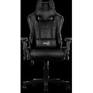 Кресло для геймеров Aerocool AC220B Black + 2 подушки (ACGC-2003101.11)