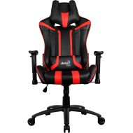 Кресло для геймеров Aerocool AC120BR Black-Red + 2 подушки (ACGC-2002101.R1)